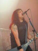 Mille of Kreator at Getaway Rock 2011