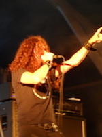 New singer Mats Leven with Candlemass